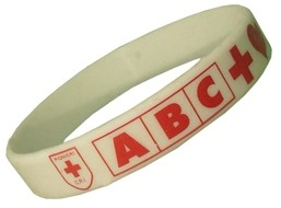 Bracelet silicone imprimé
