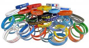 bracelets silicone personnalisables