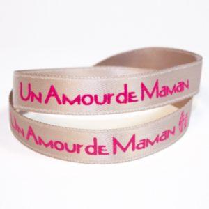 bracelets satin personnalisés