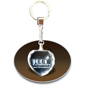 Porte-clés cristal